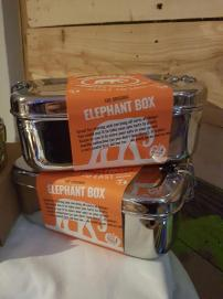 Elephant Box Stainless Steel Lunchboxes
