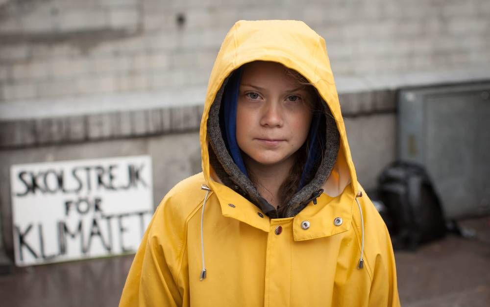 Greta Thunberg by Anders Hellberg Original Image